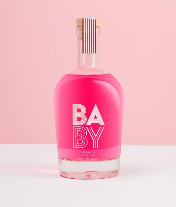 baby pink gin